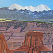 In The Canyonlands Utah Art Print