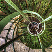 In The Eye Of The Spiral  Art Print