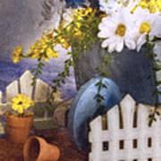 In The Garden Art Print