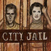 In The Jailhouse Now Art Print