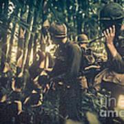 In The Jungle - Vietnam Art Print