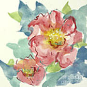 In The Pink II Art Print