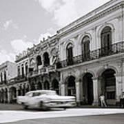 The Streets Of Havana Art Print