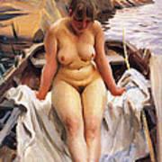 In Werners Rowing Boat Art Print