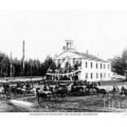 Inauguration Of Washington States First Governor 1889 Art Print