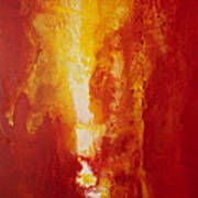Incendie Art Print