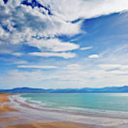 Inch Beach, Dingle Peninsula, County Art Print