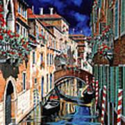 Inchiostro Su Venezia Art Print