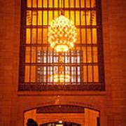 Incredible Art Nouveau Antique Grand Central Station - New York Art Print