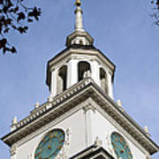 Independence Hall Bell Tower Art Print