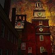 Independence Hall Philadelphia Let Freedom Ring Art Print