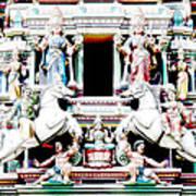 India Religion Art Print