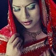 Indian Beauty Art Print