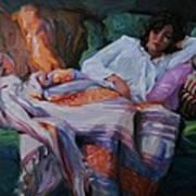 Indian Blanket Art Print