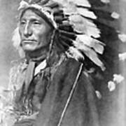Indian Chief - 1902 Art Print