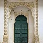 Indian Doorway Art Print