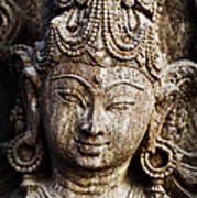 Indian Goddess Art Print by Tim Gainey