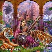 Indian Harmony Art Print