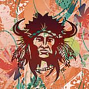 Indian Head Series 02 Art Print