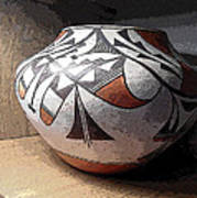 Indian Pot 1 Art Print