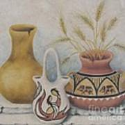 Indian Pots Art Print