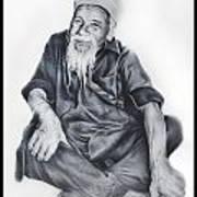 Indian Priest Art Print