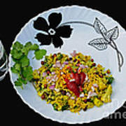 Indian Snacks - Poha Art Print