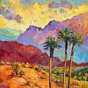 Indian Wells Art Print by Erin Hanson