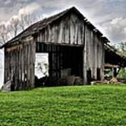 Indiana Barn Art Print