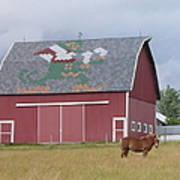 Indiana Barn Art Print