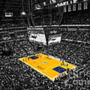 Indiana Pacers Special Print by David Haskett