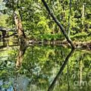 Indiana Reflections Art Print