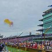 Indianapolis 500 May 2013 Balloons Race Start Art Print