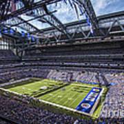 Indianapolis Colts 3 Art Print by David Haskett