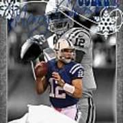 Indianapolis Colts Christmas Card Art Print