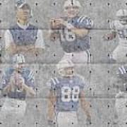 Indianapolis Colts Legends Art Print