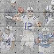 Indianapolis Colts Team Art Print