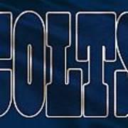 Indianapolis Colts Uniform Art Print