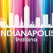 Indianapolis In 2 Art Print