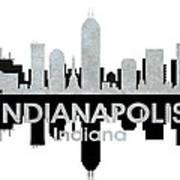 Indianapolis In 4 Art Print