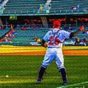 Indianapolis Indians Catcher Art Print