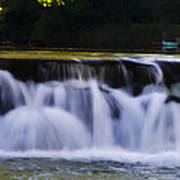 Indianhead Dam - Montgomery County Pa. Art Print
