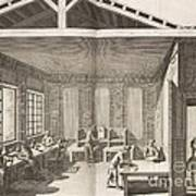 Indigo Dye Factory, 18th Century Art Print