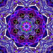 Indigo Intuition Art Print