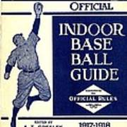 Indoor Base Ball Guide 1907 II Art Print by American Sports Publishing
