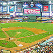 Indoors At Chase Field Art Print