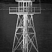 Industrial Alcatraz Art Print