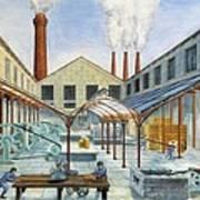 Industrial Revolution 19th C.. Factiry Art Print