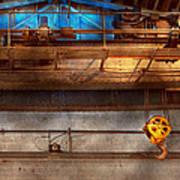 Industrial - The Gantry Crane Art Print