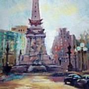 Indy Circle Back-lit Art Print